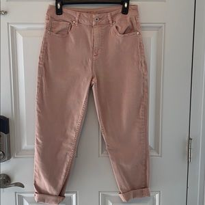 Maurice's- peach jeans/ EUC size 9/10